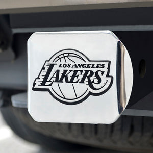 "NBA - Los Angeles Lakers Chrome Hitch Cover 4 1/2""x3 3/8"""