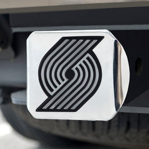 "NBA - Portland Trail Blazers Chrome Hitch Cover 4 1/2""x3 3/8"""