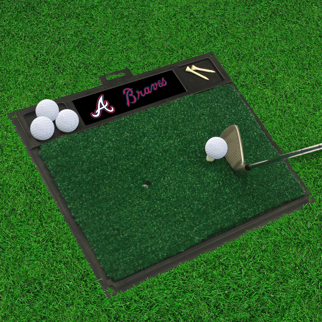 MLB - Atlanta Braves Golf Hitting Mat 20