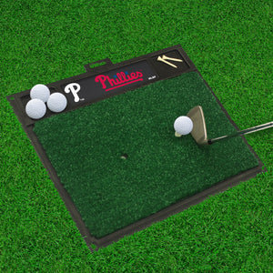 "MLB - Philadelphia Phillies Golf Hitting Mat 20"" x 17"""