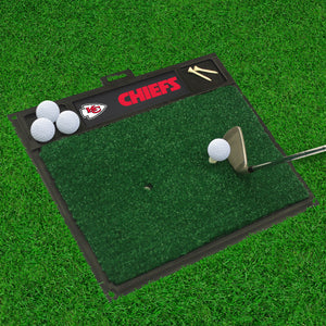 "NFL - Kansas City Chiefs Golf Hitting Mat 20"" x 17"""