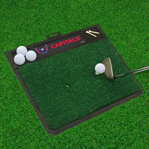 "NHL - Washington Capitals Golf Hitting Mat 20"" x 17"""