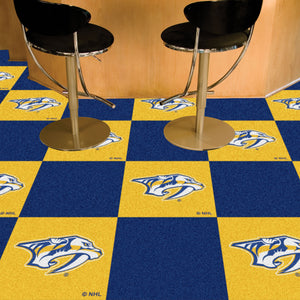"NHL - Nashville Predators 18""x18"" Carpet Tiles"