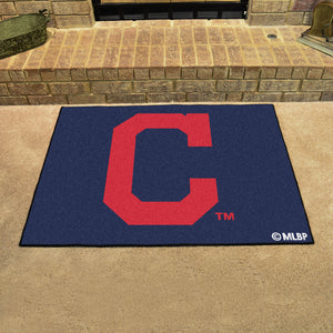 "MLB - Cleveland Indians ""Block-C"" All-Star Mat 33.75""x42.5"""