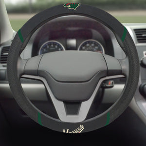 "NHL - Minnesota Wild Steering Wheel Cover 15""x15"""