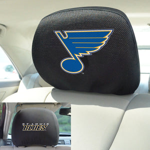 "NHL - St. Louis Blues Head Rest Cover 10""x13"""