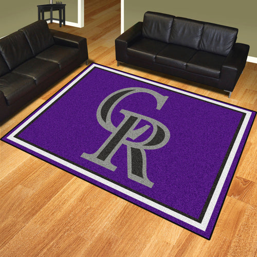 MLB - Colorado Rockies 8'x10' Rug