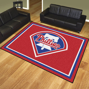 MLB - Philadelphia Phillies 8'x10' Rug
