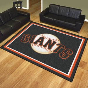 MLB - San Francisco Giants 8'x10' Rug