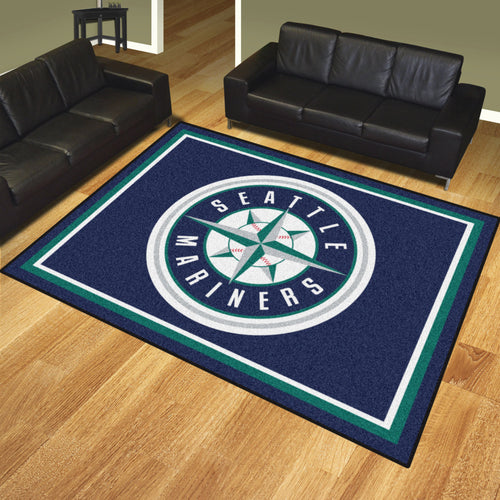 MLB - Seattle Mariners 8'x10' Rug
