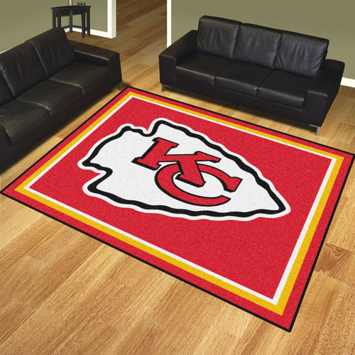 NFL - Kansas City Chiefs 8'x10' Rug