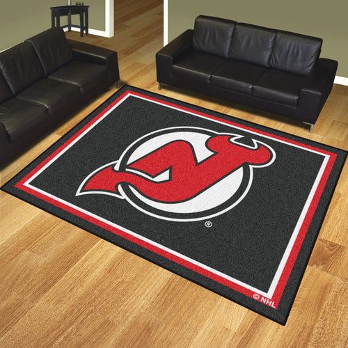 NHL - New Jersey Devils 8'x10' Rug