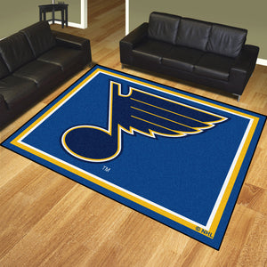 NHL - St. Louis Blues 8'x10' Rug