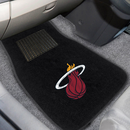 NBA - Miami Heat 2-pc Embroidered Car Mats 18