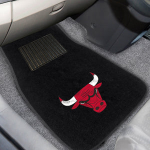 "NBA - Chicago Bulls 2-pc Embroidered Car Mats 18""x27"""
