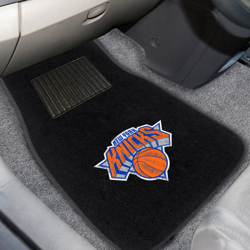 NBA - New York Knicks 2-pc Embroidered Car Mats 18