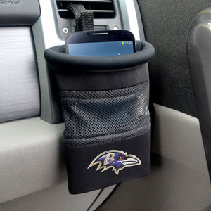 "NFL - Baltimore Ravens Car Caddy 5""x4.5"""