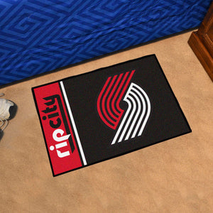 "NBA - Portland Trail Blazers Uniform Starter Rug 19""x30"""