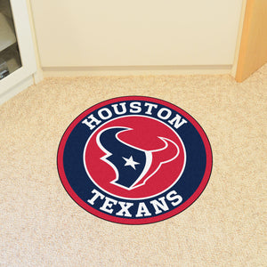 "NFL - Houston Texans Round Mat 27"" diameter"