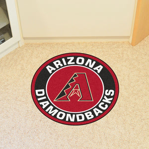 "MLB - Arizona Diamondbacks Round Mat 27"" diameter"