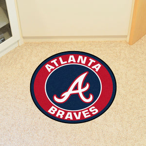 "MLB - Atlanta Braves Round Mat 27"" diameter"