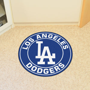 "MLB - Los Angeles Dodgers Round Mat 27"" diameter"