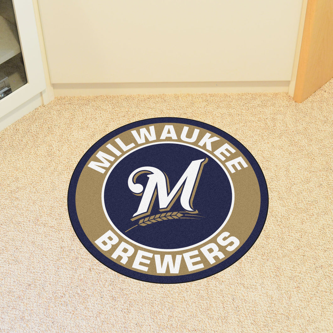 MLB - Milwaukee Brewers Round Mat 27