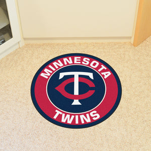 "MLB - Minnesota Twins Round Mat 27"" diameter"