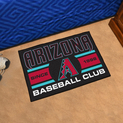 Arizona Diamondbacks Baseball Club Starter Rug 19