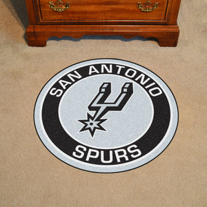 "NBA - San Antonio Spurs Round Mat 27"" diameter"