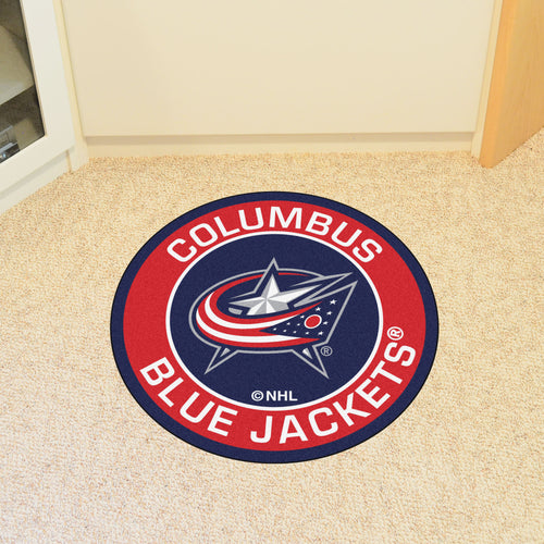 NHL - Columbus Blue Jackets Round Mat 27