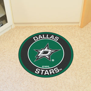 "NHL - Dallas Stars Round Mat 27"" diameter"
