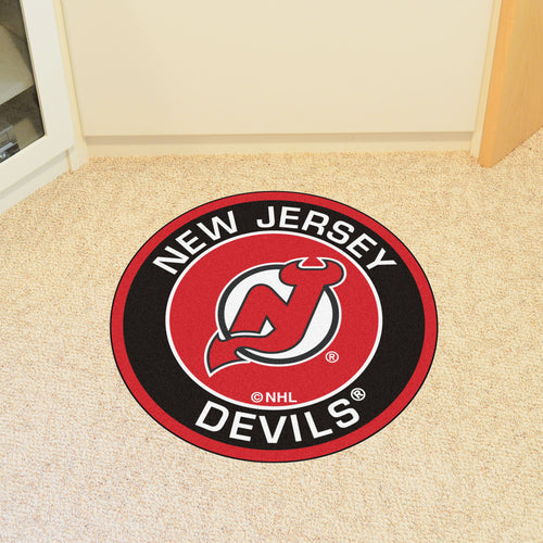 NHL - New Jersey Devils Round Mat 27