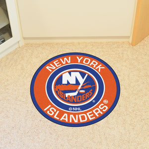 "NHL - New York Islanders Round Mat 27"" diameter"