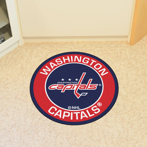 NHL - Washington Capitals Round Mat 27
