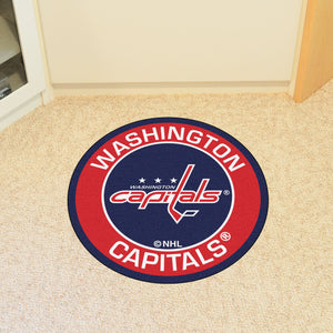 "NHL - Washington Capitals Round Mat 27"" diameter"