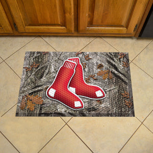 "MLB - Boston Red Sox Scraper Mat 19""x30"" - Camo"