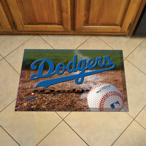 "MLB - Los Angeles Dodgers Scraper Mat 19""x30"" - Ball"