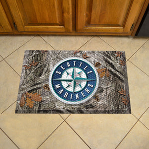 "MLB - Seattle Mariners Scraper Mat 19""x30"" - Camo"