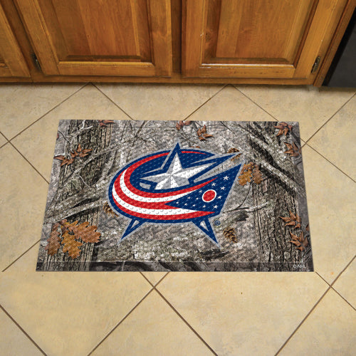NHL - Columbus Blue Jackets Scraper Mat 19