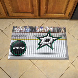 "NHL - Dallas Stars Scraper Mat 19""x30"" - Puck"