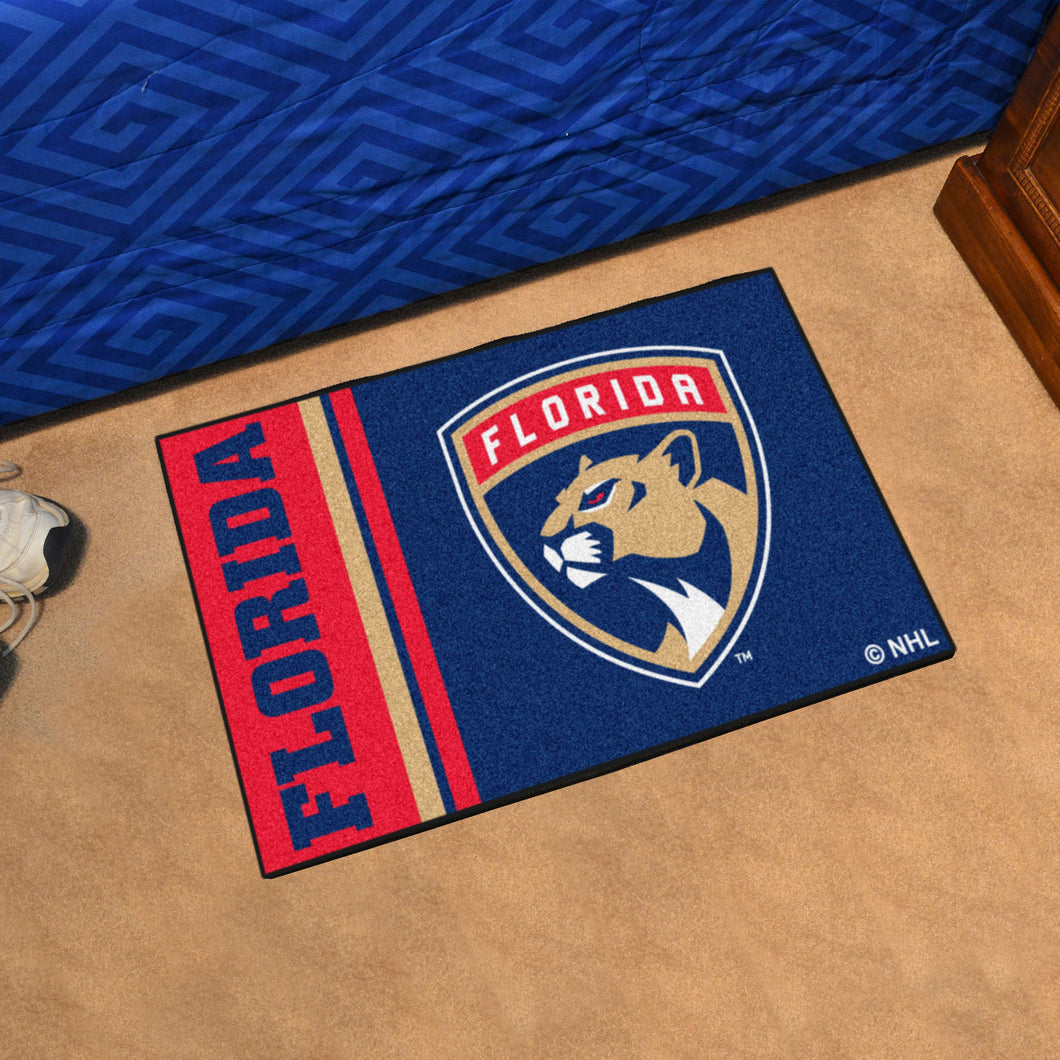 Florida Panthers Uniform Starter Rug 19
