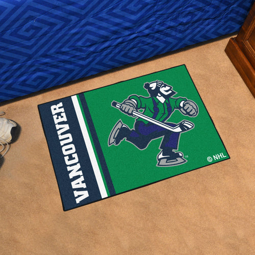 Vancouver Canucks Uniform Starter Rug 19
