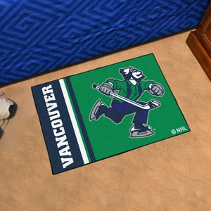 "Vancouver Canucks Uniform Starter Rug 19""x30"""