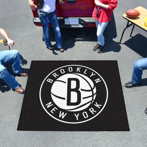 NBA - Brooklyn Nets Tailgater Rug 5'x6'