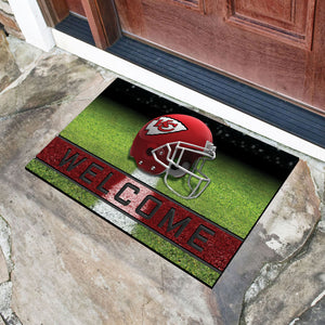 "NFL - Kansas City Chiefs 18""x30"" Crumb RubberDoor Mat"