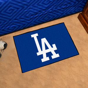 "MLB - Los Angeles Dodgers 'LA' Starter Rug 19""x30"""
