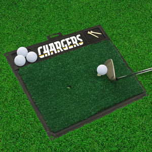 "NFL - Los Angeles Chargers Golf Hitting Mat 20"" x 17"""