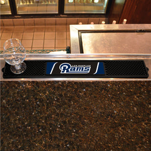 "NFL - Los Angeles Rams Drink Mat 3.25""x24"""
