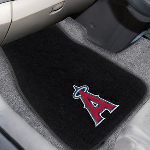 "MLB - Los Angeles Angels 2-pc Embroidered Car Mats 18""x27"""